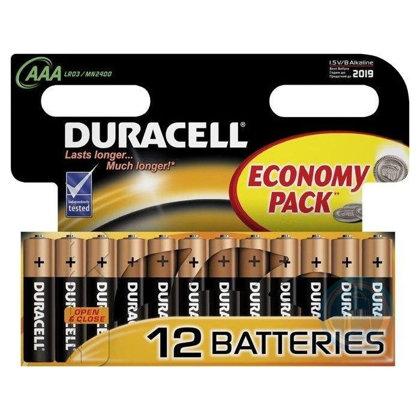 Baterija AAA LR03 Duracell Basic 12gb.