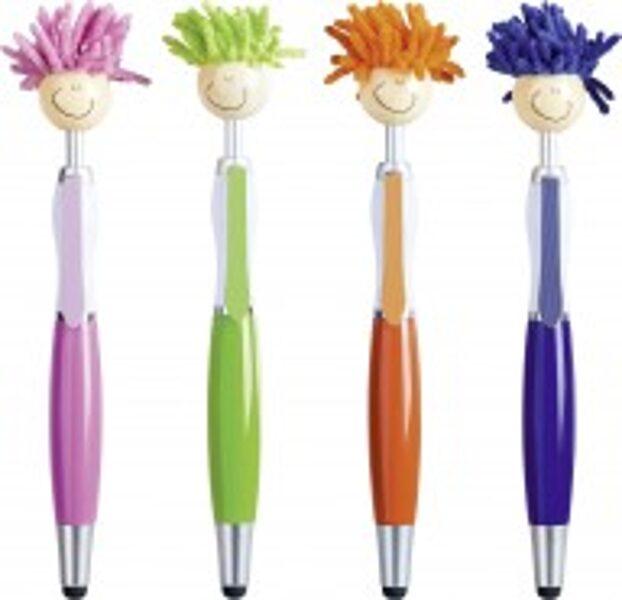 Pildspalva Frizūra, 4 dažādas krāsas