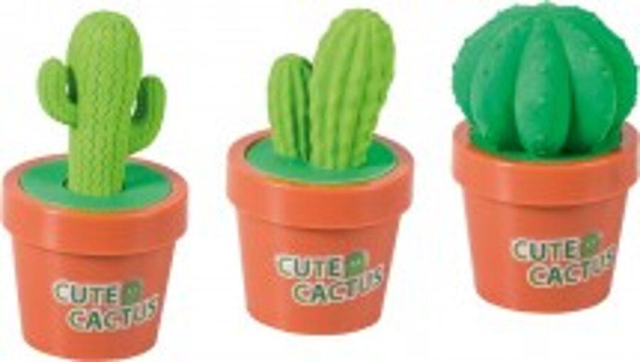 Zīmuļu asināmais un dzēšgumija Kaktuss