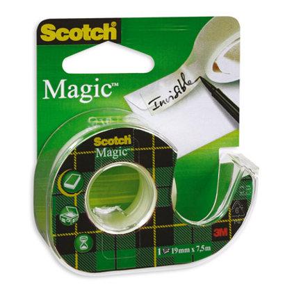 Līmlente 19mm*7.5m, ar turētāju, 3M Scotch Magic