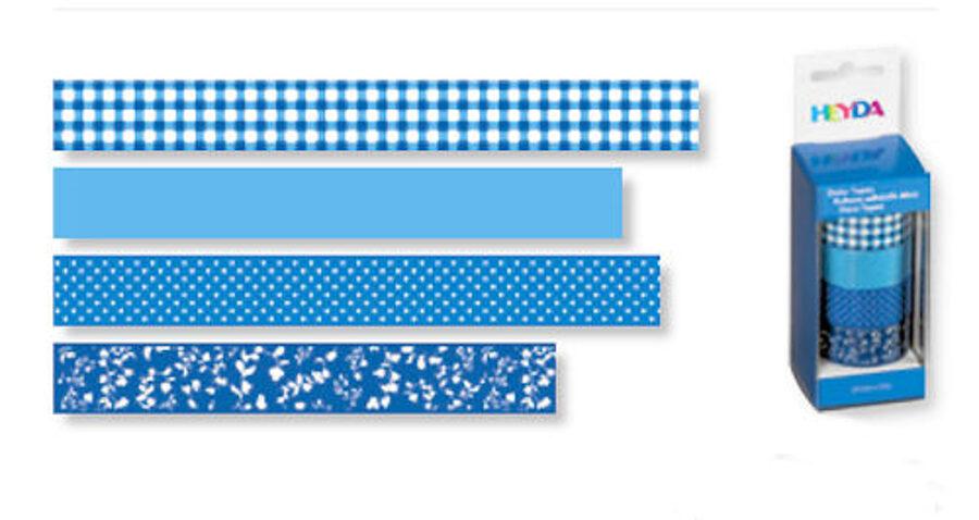 Dekoratīva līmlente 15mm Colour, zila
