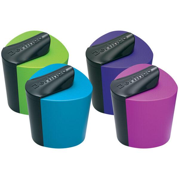 Zīmuļu asināmais ar rezervuāru, plastmasas, mix krāsas, 1gb., Berlingo Color Zone
