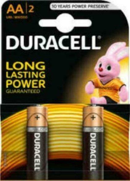 Baterija AA LR06 Duracell Basic 2gab.