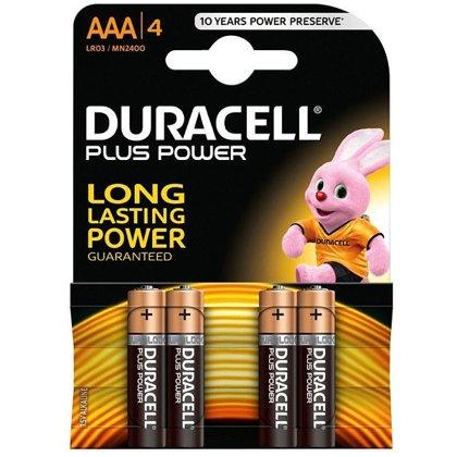 Baterija AAA LR03 Duracell Basic 4gab