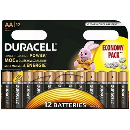 Baterija AA LR06 Duracell Basic 12gab.