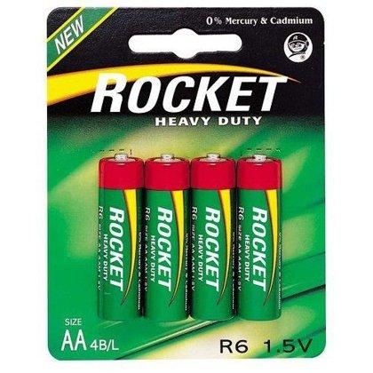 Baterijas AA LR06 Rocket 4gb