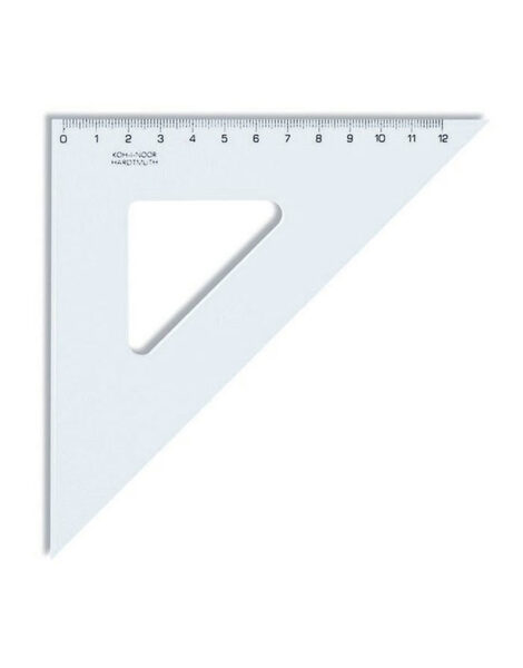 Lineāls trijstūris 45/12cm, Koh-i-noor