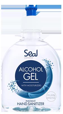 ALCOHOL GEL roku kopšanai ar antibakteriālu iedarbību