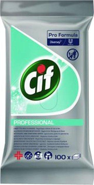 Universālas virsmu uzkopšanas salvetes CIF PROFESSIONAL
