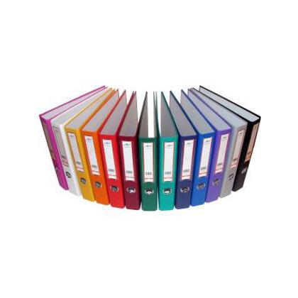 Mape-reģistrs A4, 5cm, dažādas krāsas
