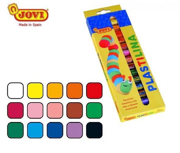 Plastilīns, 15 krāsas. Jovi