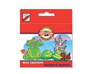 Vaska pasteļkrītiņi 24 krāsas, d=8.5mm, L-85mm,