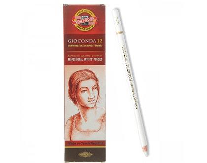 Zīmulis mākslinieku, ogļu, balts, 1gab,