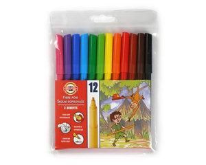 Flomasteri 12 krāsas