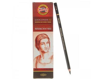 Zīmulis mākslinieku, viegli melns, 1gab, Koh-i-noor