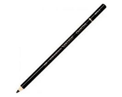 Zīmulis mākslinieku, ogļe, melns, 1 gab.
