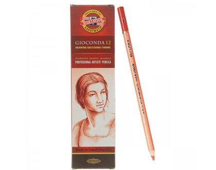 Zīmulis mākslinieku, krīta, sarkans, 1gab., Koh-i-noor