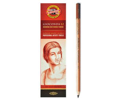 Zīmulis mākslinieku, gaiši brūns, sēpija, 1 gab.