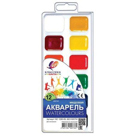 Akvareļkrāsas 12 krāsas, Luch