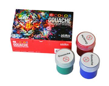 Guaša, 6 krāsas, 20ml