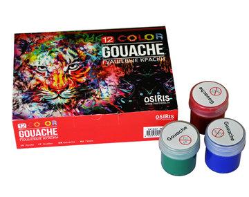 Guaša, 12 krāsas, 20ml