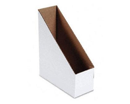 Dokumentu bokss A4/115mm, kartona, balts