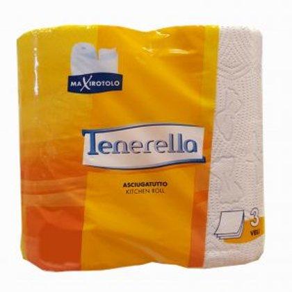 """Papīra dvieļi """"Tenerella"""", 135 loksnes, 3 slāņi"""