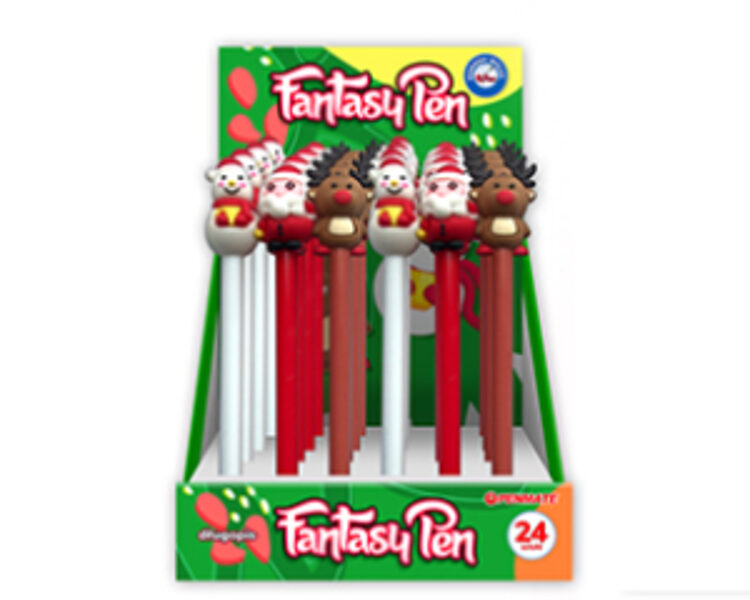 Lodīšu pildspalva, Ziemassvētki 2