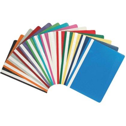 Mape-ātršuvēns A4, plastikāta, dažādas krāsas