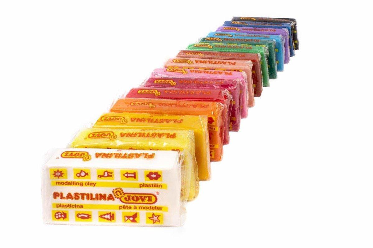 Plastilīns, 50g dažādas krāsas, Jovi