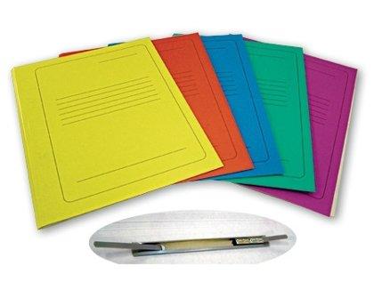 Mape-ātršuvējs A4, kartona, dažādas krāsas