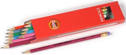 Zīmulis parastais HB ASTRA, ar dzēšgumiju, Koh-i-noor