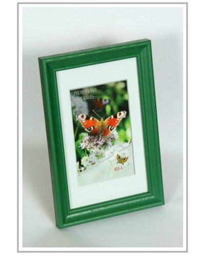 Koka Foto rāmis, zaļā krāsā, dažādi izmēri