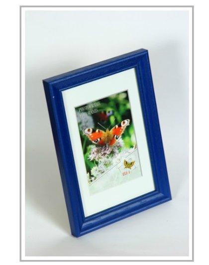 Koka Foto rāmis, zilā krāsā, dažādi izmēri